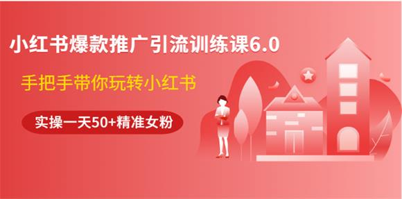 狼叔小红书推广引流训练课6.0视频.jpeg