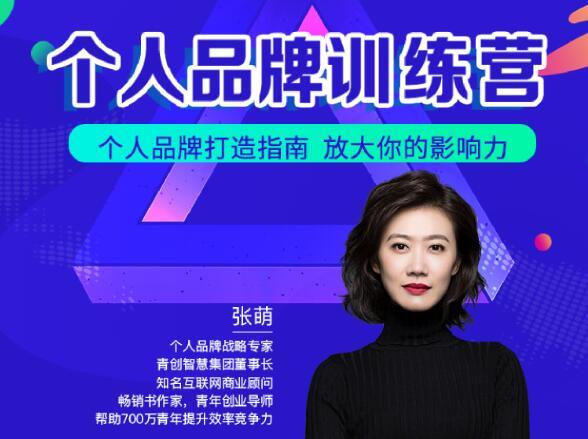 张萌萌姐个人品牌训练营课程视频