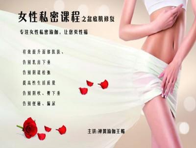 王媚-女性私密瑜伽之盆底肌修复系列9课